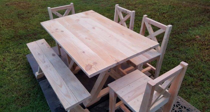 Garden Furniture Out Wood Pallets Pallet Ideas
