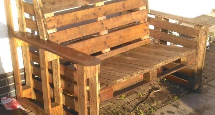 Garden Furniture Pallet Wood Champsbahrain