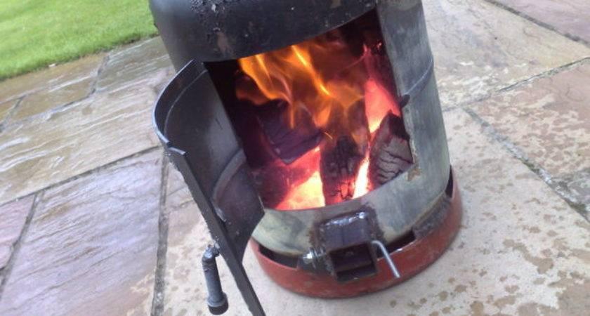 Gas Bottle Wood Burner Steps