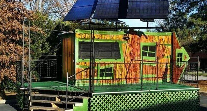 Get Your Tickets Here Tiny Mobile Vending Vehicle