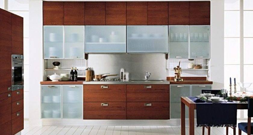 Glass Cabinet Shutter Your Modular Kitchen Designwud