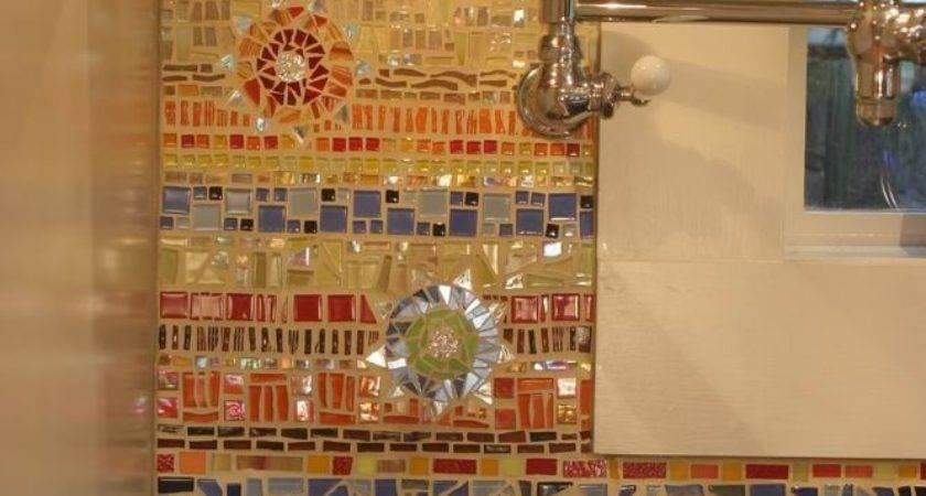 Gleaming Mosaic Kitchen Backsplash Designs