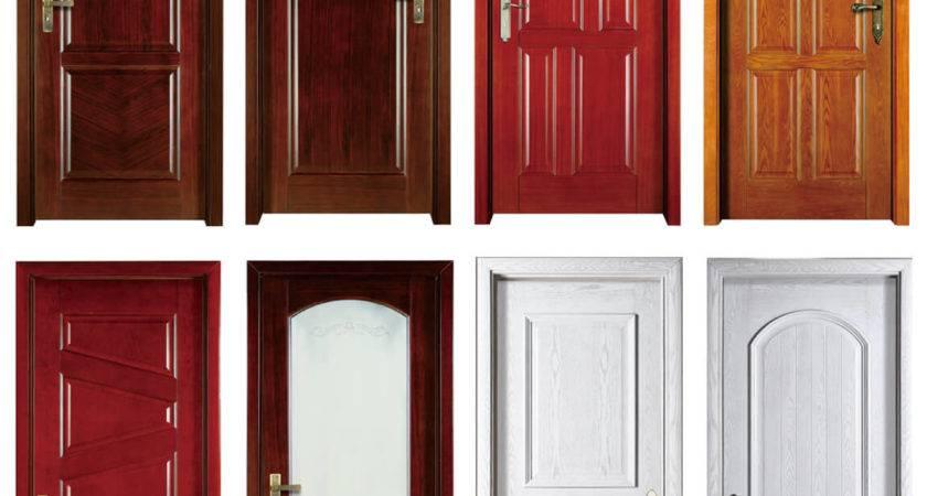 Goldea American Design Bedroom Painting Veneer Wooden Door