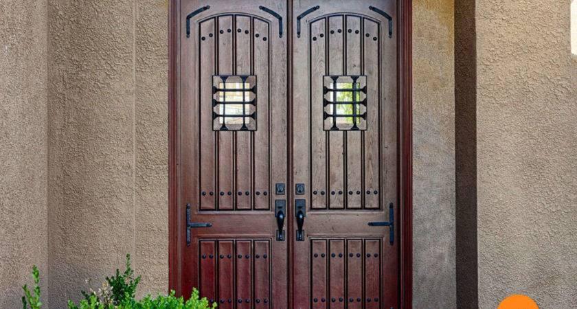 Good Foot Double Doors Exterior Blessed Door