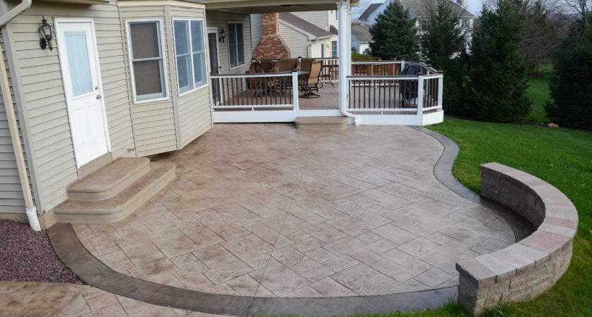 Good Looking Simple Concrete Patio Design Ideas