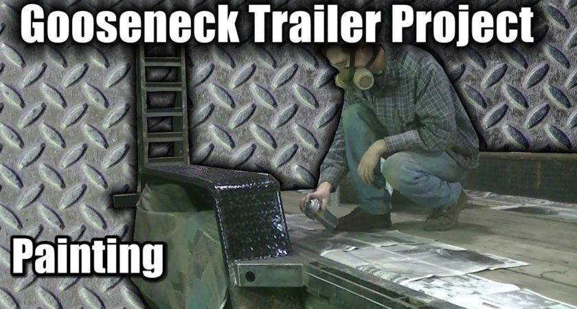Gooseneck Trailer Project Blue Collar Hauler Part