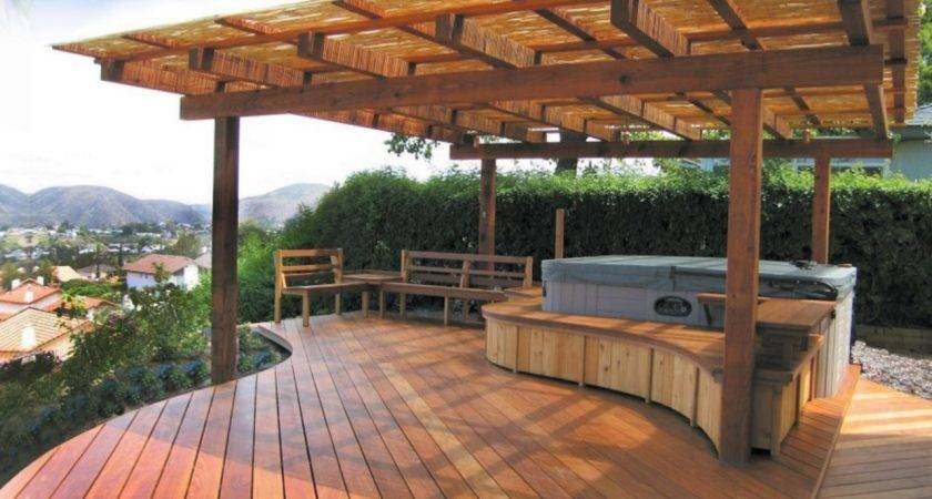 Gorgeous Decks Patios Hot Tubs Interior
