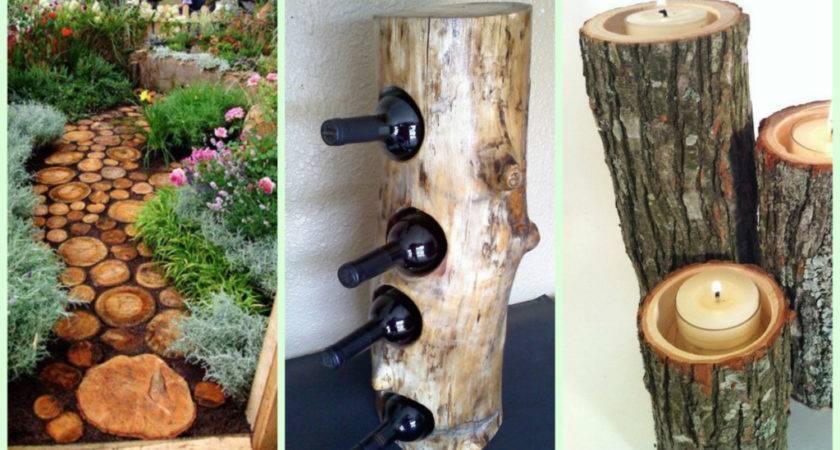 Gorgeous Diy Wood Home Garden Decorations