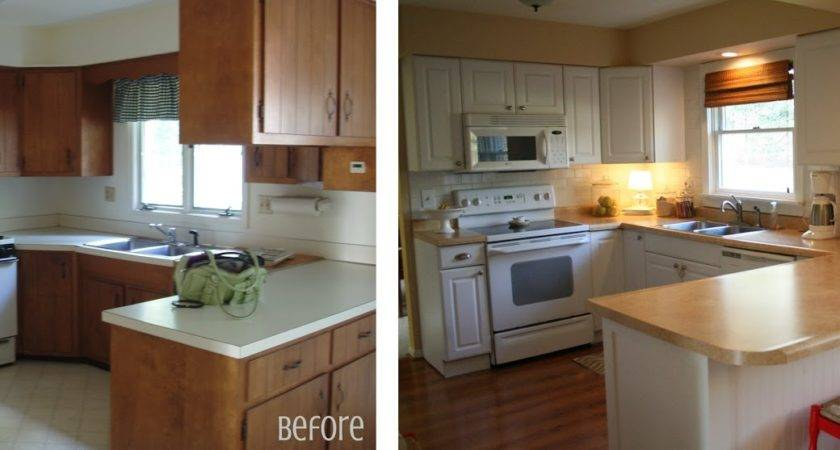 Graphic Made Kitchen Before After