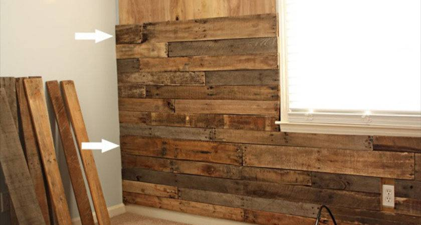 Great Idea Pallet Wood Wall Furniture Plans