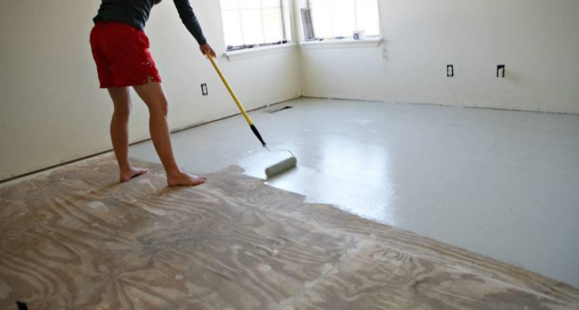 Great Idea Sub Flooring Between Ripping Carpet