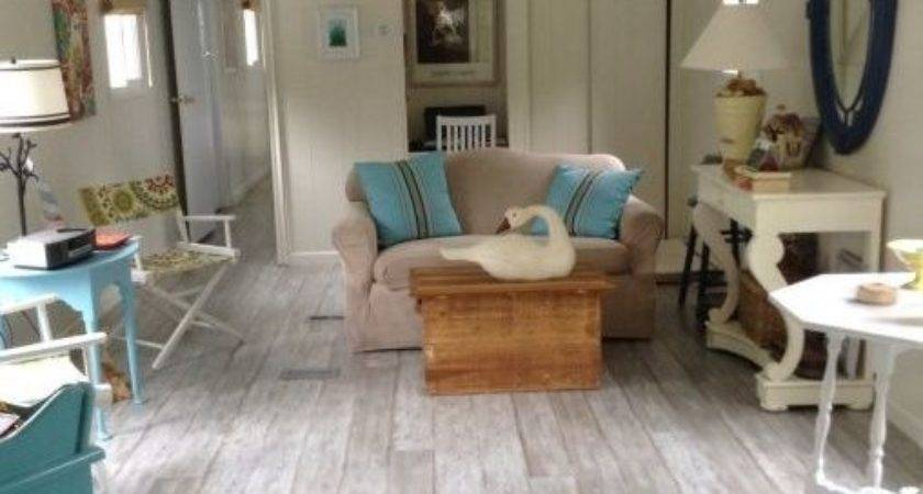 Great Living Room Mobile Home Makeover Ideas