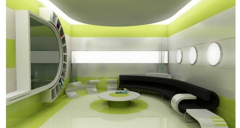 Green Interior Designs Modern Classical Home