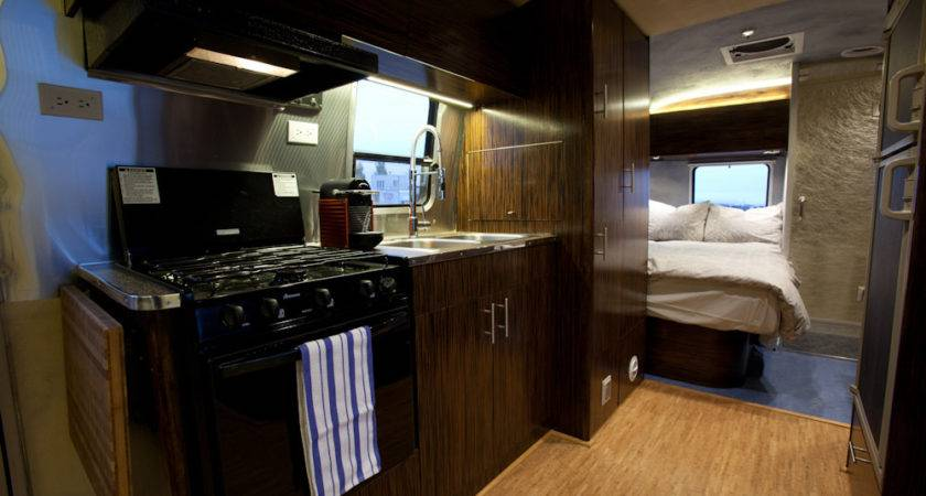 Green Remodel Travel Trailer Road