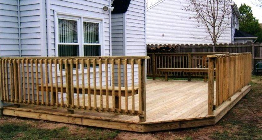 Ground Level Deck Build