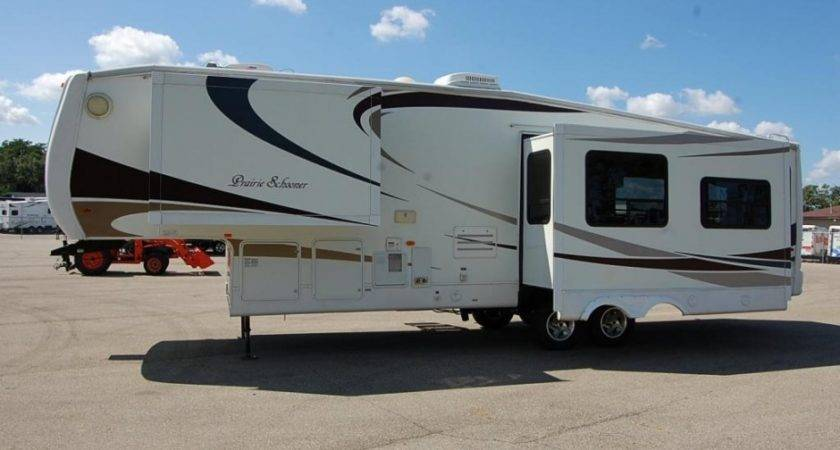 Gulf Stream Prairie Schooner Rlf Fifth Wheel Grand