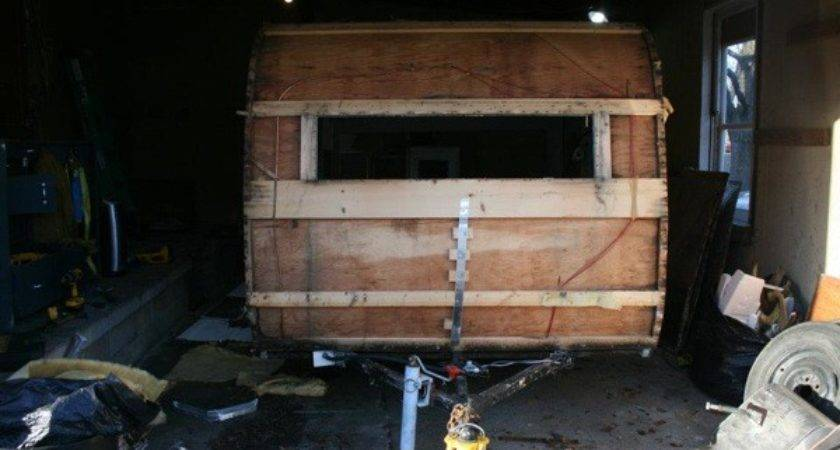 Guy His Girlfriend Turn Old Camper Into Sweet Tiny Home