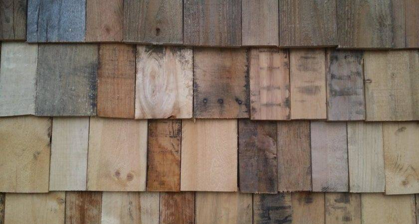 Half Round Tile Vinyl Siding Looks Like Wood Loccie