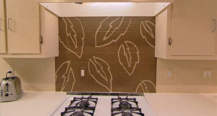 Handpaint Kitchen Backsplash Hgtv