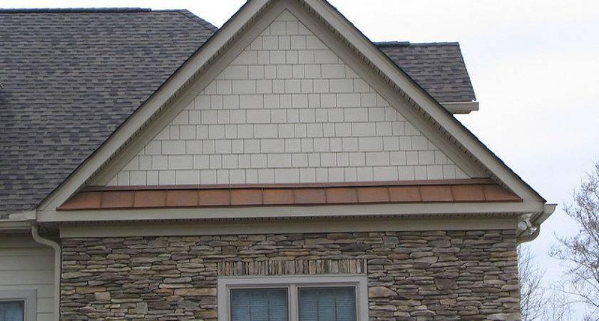 Hardiplank Shake Siding Standing Seam Metal Roof