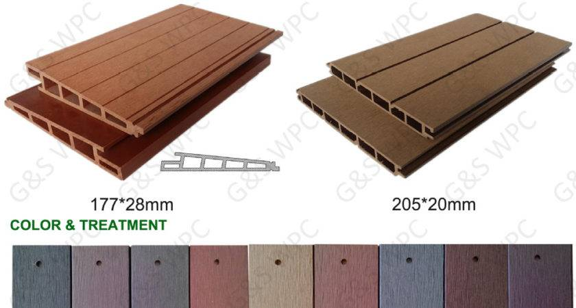 High Quality Outdoor Waterproof Pvc Wood Plastic Exterior