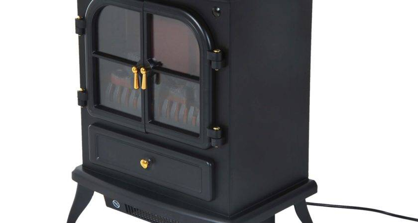 Homcom Standing Electric Wood Stove