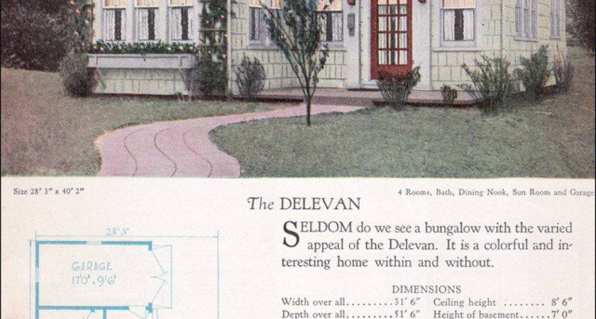 Home Builders Catalog Delevan Small Vintage