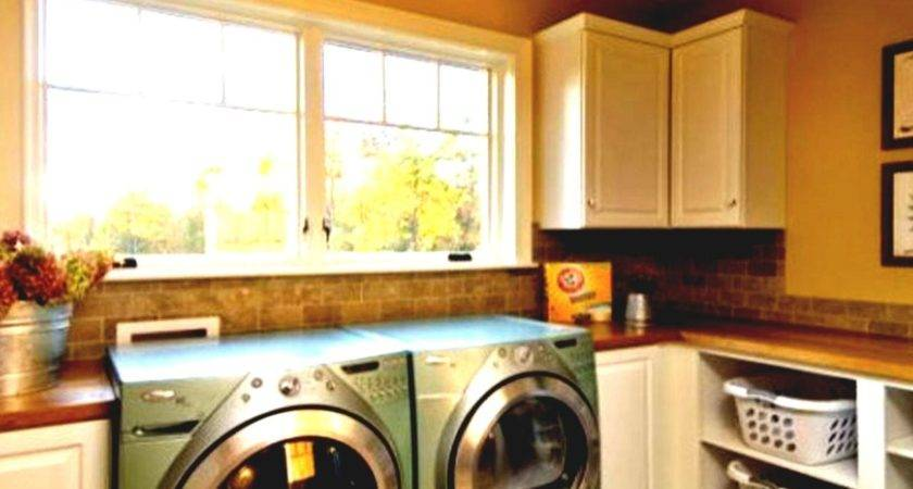 Home Decor Ideas Rustic Laundry Room Two Washers