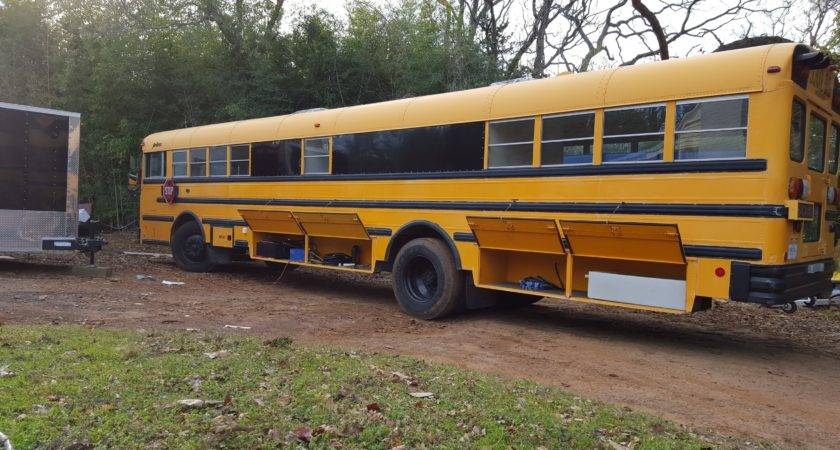 Home Tatum Skoolie School Bus Conversion