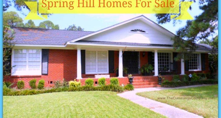 Homes Sale Spring Hill Between