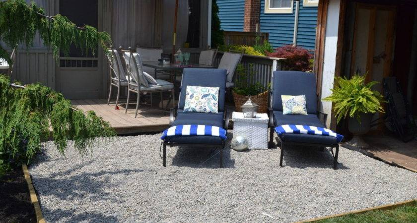Hometalk Pea Gravel Patio
