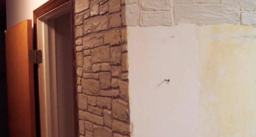 Hometalk Plain Walls Transformed Stone