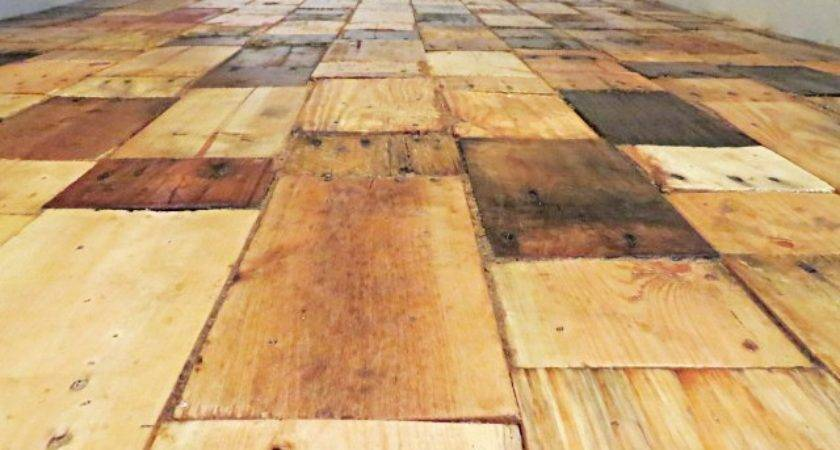 Hometalk Redoing Floor Pallet Wood