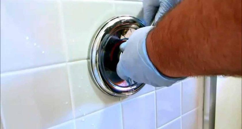 Hot Water Moen Tub Shower Valve Youtube