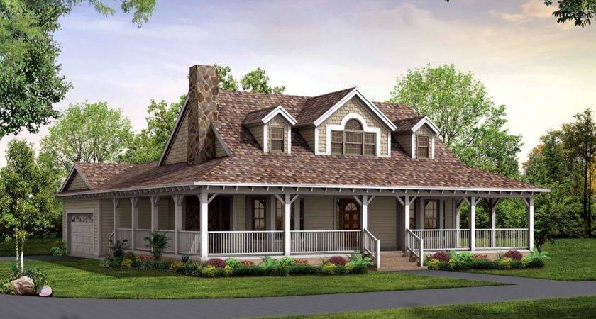 House Plans Wrap Around Porch Smalltowndjs