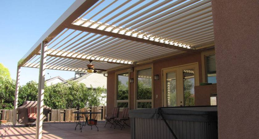 Houston Patio Covers Louvered Roof System