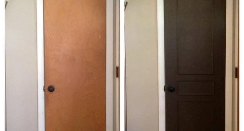 Humphries House Coat Closet Door Makeover