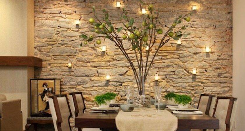 Idea Dining Room Accent Wall Living