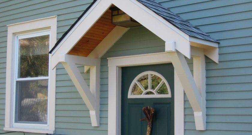 Ideas Porch Awning Pinterest Door Canopy