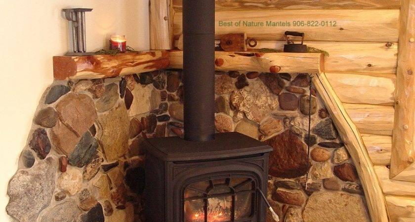 Ideas Wood Stove Surround Pinterest Log