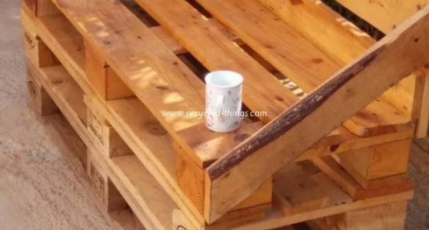 Ideas Wooden Pallet Recycling Recycled Things