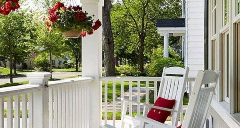 Impressive Front Porch Decorating Ideas Futurist