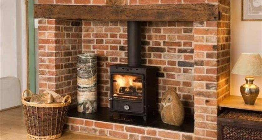 Inglenook Fireplace Pinterest Border Oak Log Burner