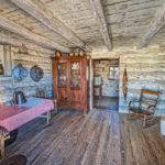 Inside Log Cabin Flickr Sharing