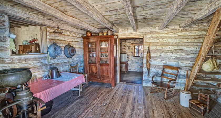 Inside Log Cabin Flickr Sharing