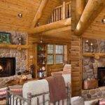 Inside Log Cabins Decorating Ideas Youtube