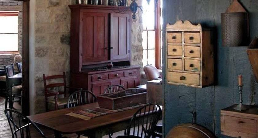 Inspiring Primitive Home Decor Examples