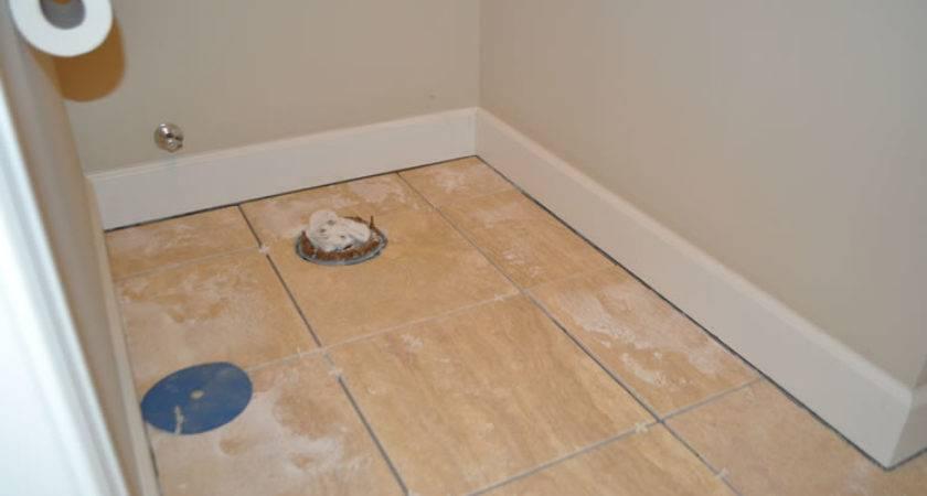 Install Bathroom Floor Tile Wood Floors