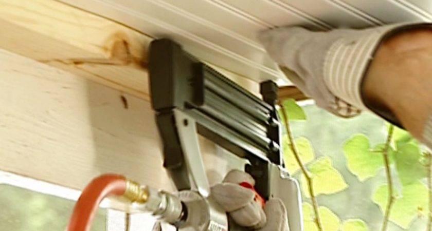 Install Beadboard Ceiling Porch Tos Diy