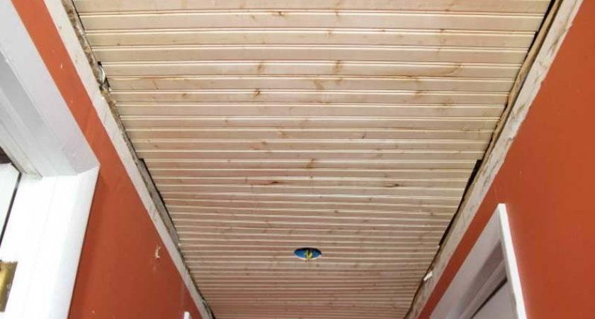 Install Beadboard Paneling Ceiling Installing